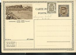 Carte Neuve N° 10.15.  Knocke Sur Mer  (Tennis) - Entiers Postaux
