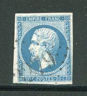 Y&T N°14B- Gros Chiffre 3279 - 1849-1876: Classic Period