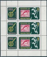 B0535 Hungary Philately Stamp-on-Stamp Exhibition NORWEX'80 Sport Olympic Small List MNH - Winter 1952: Oslo