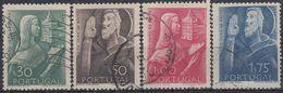 PORTUGAL 1948 Nº 702/05 USADO - Oblitérés