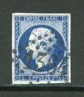 Y&T N°14A- Gros Chiffre 1364 - Marcofilie (losse Zegels)