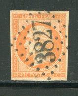 Y&T N°16- Gros Chiffre 3827 - 1853-1860 Napoleone III