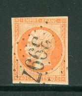 Y&T N°16- Gros Chiffre 3997 - 1849-1876: Periodo Classico