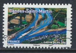 °°° FRANCE 2013 - Y&T N°A843 CANDES SAINT MARTIN °°° - Used Stamps