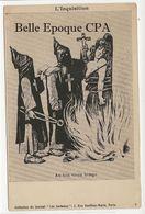 Politique-Anticléricalisme / L'Inquisition - Au Bon Vieux Temps +++ Journal Les Corbeaux, Paris, #8 ++++ RARE - Satiriques