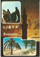 Libya/Libia/Libye Mosque Via Yugoslavia.nice Stamps - 1964 Olympic Games - Tokyo, Japan - Libya