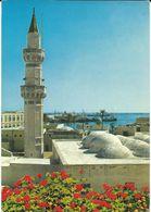 Libya/Libia/Libye Tripoli Mosque Via Yugoslavia.nice Mix Stamps Fruits - Libië