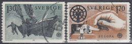 SUECIA 1979 Nº 1040/41 USADO - Sweden