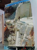 CARRARA LE CAVE OPERAI AL LAVORO  N1975  GQ508 - Carrara