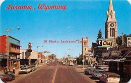 279125-Wyoming, Laramie, Third Street, Looking North, Business District, Sanborn By Dexter Press No 20282-C - Laramie