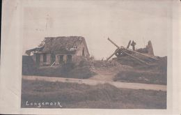 CARTE-PHOTO Langemark (1917) - Langemark-Poelkapelle
