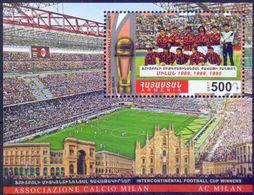Used Armenia 2017, Intercontinental Football Cup, Winners, Milan S/S. - Arménie