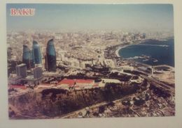 AZERBAIJAN-BAKU,THE VIEW OF BAKU S BAY AND THE CENTRE OF THE CITY - Azerbaiyan