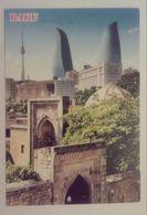 AZERBAIJAN-BAKU,OLD AND NEW BAKU - Azerbaiyan