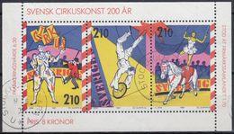 SUECIA 1987 Nº HB-15 USADO - Blocks & Sheetlets