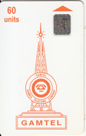 GAMBIA - Telecom Logo Orange(reverse 1), Second Issue 60 Units, Chip SC4, CN : 32877, Used - Gambia