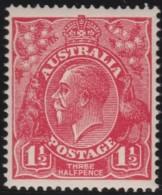 Australia   .    SG   .     84   .     No  Wm    .    **    .      MNH   .   /   .    Postfris - 1913-36 George V : Hoofden