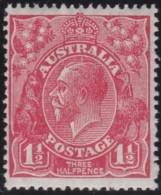 Australia   .    SG   .     87   .      Wm   Small  Multiple Crown  .    **    .      MNH   .   /   .    Postfris - 1913-36 George V : Hoofden