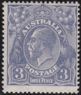 Australia   .    SG   .     90     .      Wm   Small  Multiple Crown  .    **    .      MNH   .   /   .    Postfris - 1913-36 George V : Hoofden