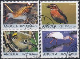 ANGOLA 1999 PAJAROS USADO - Pájaros