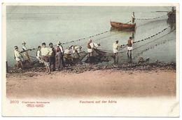 Fischerei Auf Der Adria Dalmacija Dalmatia Hrvatska Croatia Croazia Kroatien Ribari Ribolov - Croazia
