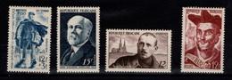 1950 YV 863 à 866 N** Cote 6,60 Eur - Unused Stamps