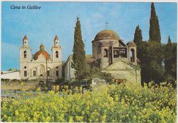 ISRAEL ,capitale Des Religions,cana In Galilée,les Deux église - Israele
