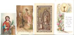 NR 4 SANTINI D'EPOCA: - LOTTO NR.15 - Religione & Esoterismo