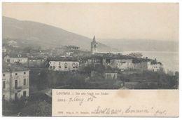 Lovran Laurana Lovrana Die Alte Stadt Von Suden Istra Istria Istrien Kvarner Hrvatska Croatia Croazia Kroatien - Croazia