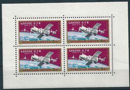B0572 Hungary Space USSR Soyuz-6-7-8 Spaceship Small List MNH - Hungary