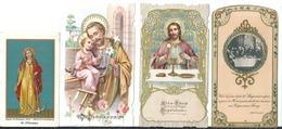 NR 4 SANTINI D'EPOCA: - LOTTO NR.13 - Religione & Esoterismo