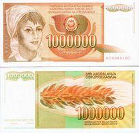 Yugoslavia - 1000000 Dinar 1989 UNC - Joegoslavië