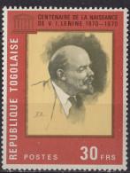 TOGO - Centenaire De La Naissance De Lénine - Togo (1960-...)