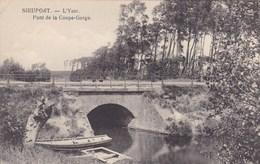 Nieuwpoort, Nieuport, L'Yser, Pont De La Coupe Gorge (pk45157) - Nieuwpoort