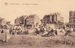 Koksijde, Coxyde Bains, La Plage Et La Digue (pk45159) - Koksijde