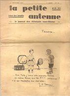 TSF RADIO La Petie Antenne 1 ère Année N°20 Du 1er Septembre 1927 - Books, Magazines, Comics