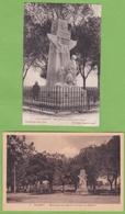 2 Belle CPA GRAMAT Monument Aux Morts Avenue De Padirac Animation 46 LOT - Gramat