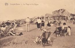 Koksijde, Coxyde Bains, La Plage Et La Digue (pk45163) - Koksijde