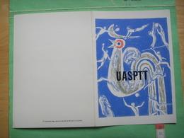 82) 40éme Assemblee Gale UASPTT :26 04 1985 ;oeuvre Originale Bernard  Le Quellec : Recto-verso - Artist Proofs