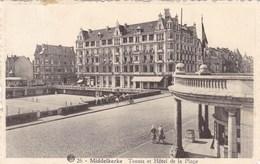 Middelkerke, Tennis Et Hotel De La Plage (pk45175) - Middelkerke