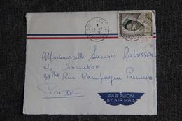 Fragment Lettre Du CAMEROUN (FOUMBOT) Vers FRANCE ( PARIS ) - Camerun (1960-...)