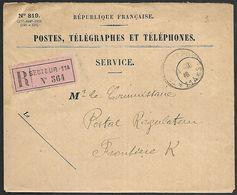 CM 126  Correspondance Militaire Du 11-10-16 Cachet Trésor Et Postes Simple Cercle N°(SP)114 27ème Division D'Infanterie - 1. Weltkrieg 1914-1918