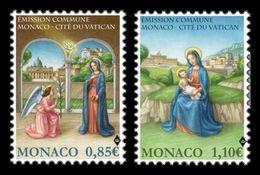 Monaco 2017 Mih. 3371/72 Christmas (joint Issue Monaco-Vatican) MNH ** - Monaco