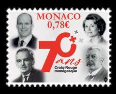 Monaco 2018 Mih. 3385 Red Cross MNH ** - Mónaco