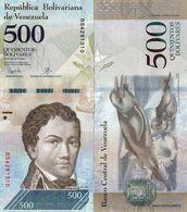 Venezuela - 500 Bolivar 2017  UNC - Venezuela