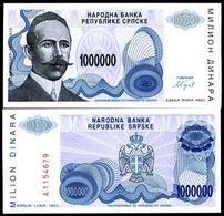 Serpska Republic - 1000000 Dinar 1993 UNC - Yugoslavia