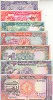 SUDAN 25 50 PT. 1 5 10 20 50 POUND 1987 1991 P- 37 38 39 45 46 47 48 UNC SET */* - Sudan