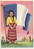 CHROMOS CHROMO - FLAGS OF UNIVERSE - GUATEMALA - FLAG - 8,1 Cm X 5,3 Cm - Histoire