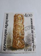 """Timbre France  1984 / Y&T N° 2299 : """"Hommage Au Cinéma"""" (CESAR) Oblitéré - Used Stamps"""