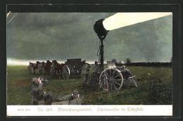 CPA Scheinwerfer An Der Front - Oorlog 1914-18